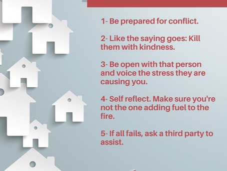 Tips to deal with a difficult Co-worker!