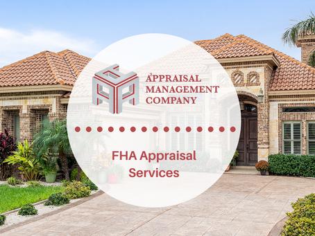 FHA Appraisal.