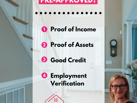 This is what you need to get pre-approved!