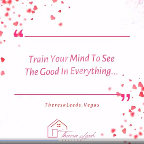 Train Your Mind To See The Good In Everything!       Real Estate Motivational Quote...