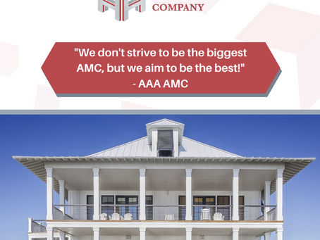 """""""We don't strive to be the biggest AMC, but we aim to be the best!"""