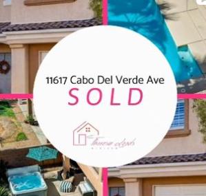 Sold property! 11617 Cabo Del Verde.