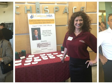 Hosting a Networking Event by the California MBA Group