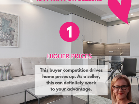 Three ways low inventory is a win for sellers!