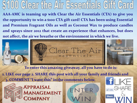Clear the Air Essentials Giveaway!