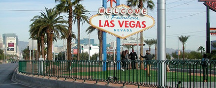 Las Vegas Sign Hoop