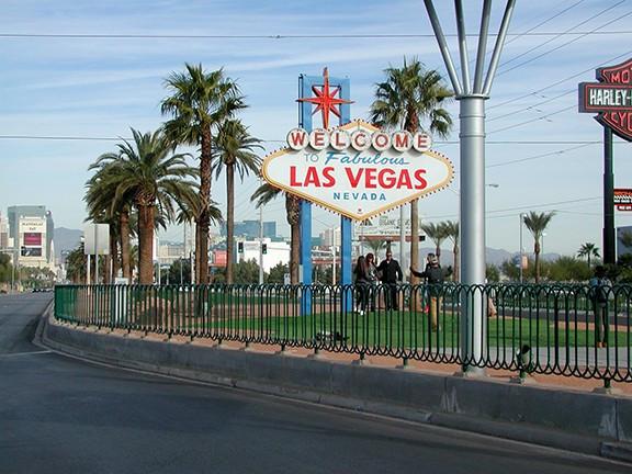 Las Vegas Sign Hoop