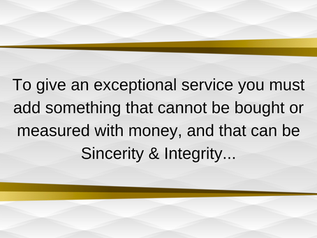 Motivational Quote - Out And About Sincerity and Integrity