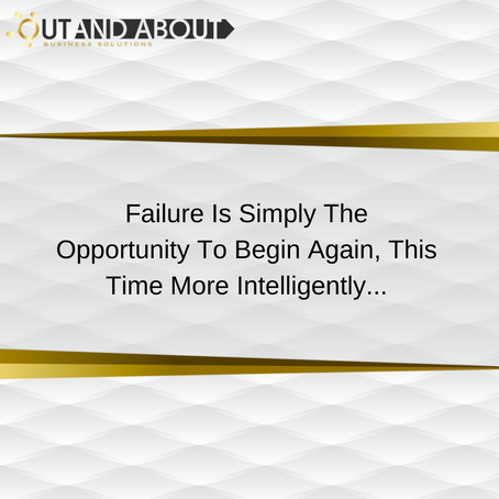 Out And About Business Solutions   |   Business Quote  -  Failure Quote