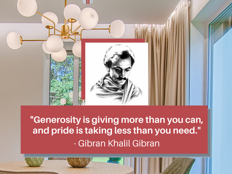 Quote of the day by Gibran Khalil Gibran