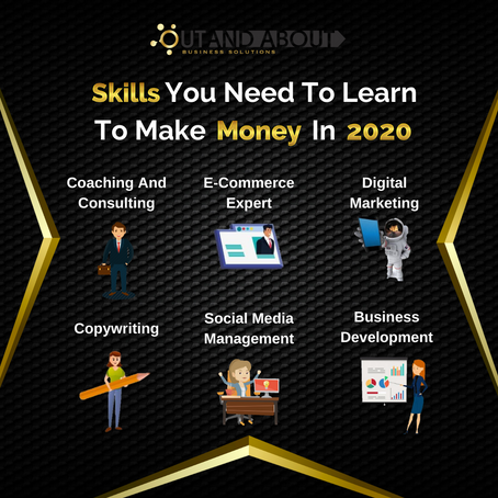 Out And About Business Solutions   |   Business Tips  -  Skills you need to learn in 2020