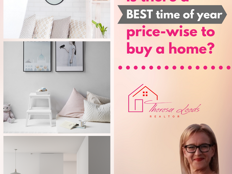 Is there a BEST TIME OF YEAR price-wise to buy a home?