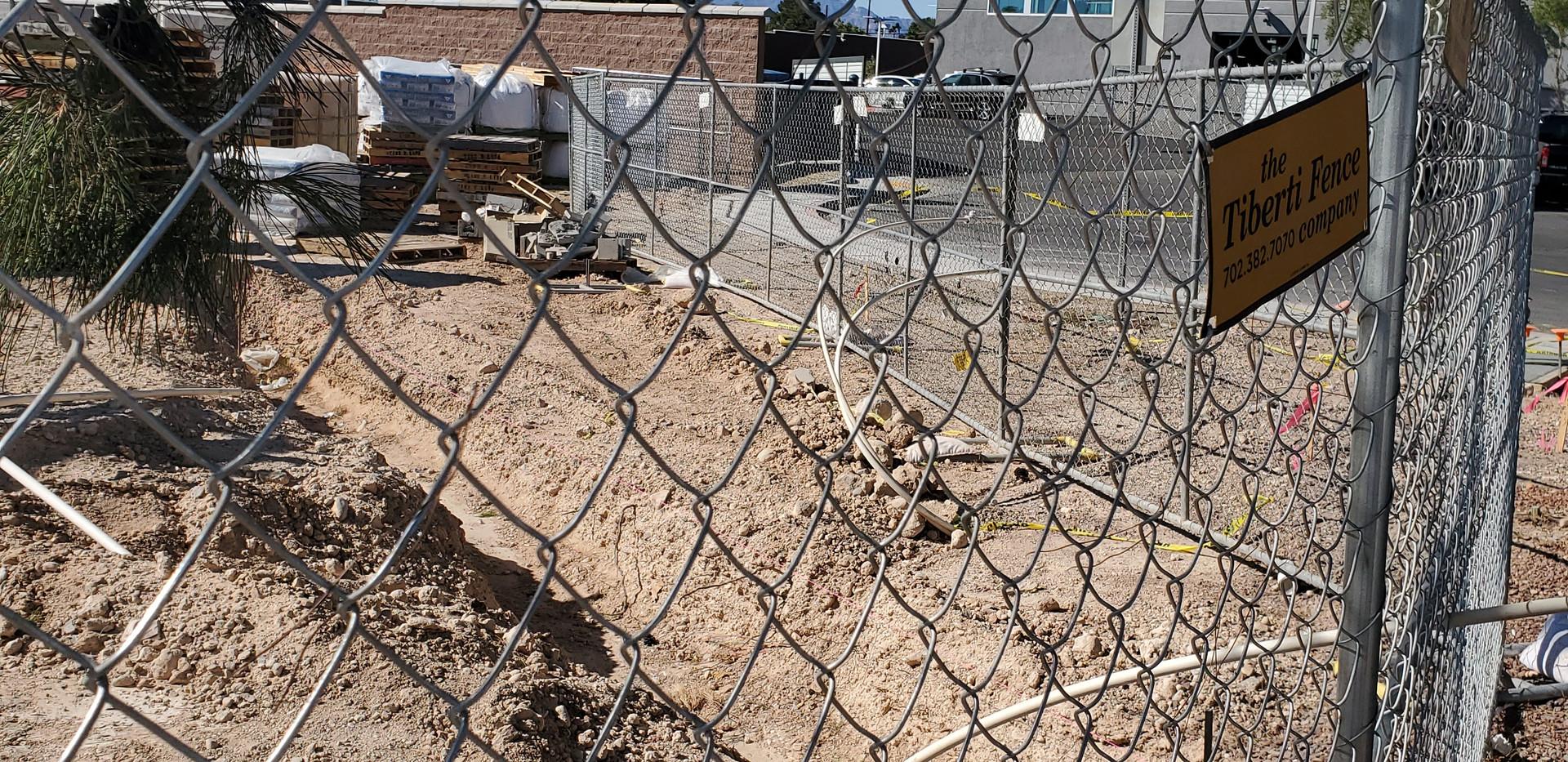Fence line - The Tiberti Fence Company - Las Vegas, Nevada