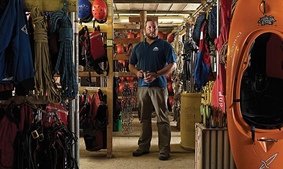 Dave Eddins, Managing Director, Mendip Outdoor Pursuits