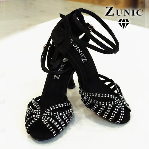 c6b19a6041 Zapatos de baile decorados de mujer para competición y baile de salón.  Exclusivos zapatos para