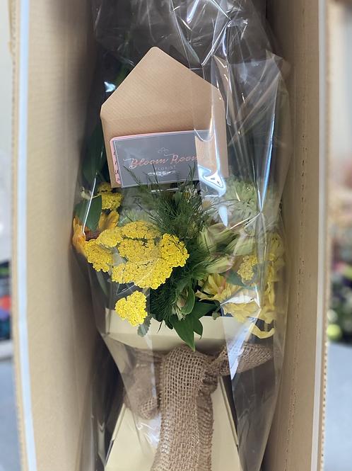 Postal Bouquet In A Box