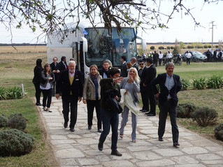 Recorrida de diplomáticos UE en SER BEEF