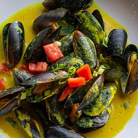 Island Curry Mussels