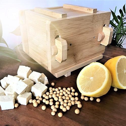 the zofu.: your zero-waste tofu press & tofu making kit.
