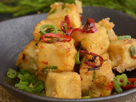 the magnificent General Tso's tofu