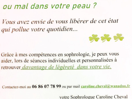 La sophrologie au service des personnes stressées...