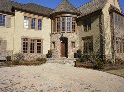 Boral Brick with Pastelcote and Weatherface Building Stone