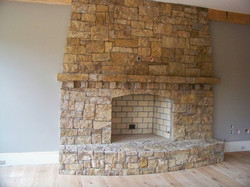 Floor to Ceiling Mission Springs Building Stone