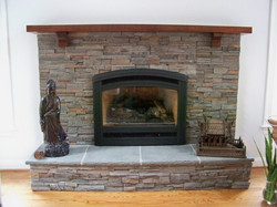 5 ft 6 in Fireplace Profile