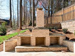 Exterior Patio Fireplace