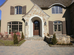 Boral Brick with Pastelcote and Weatherface Building Stone 2
