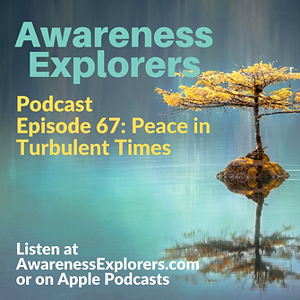 AE Episode67 Peace in a Turbulent World.