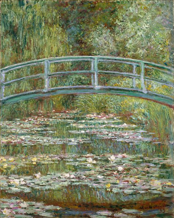 Bridge over a Pond of Water Lilies.PNG