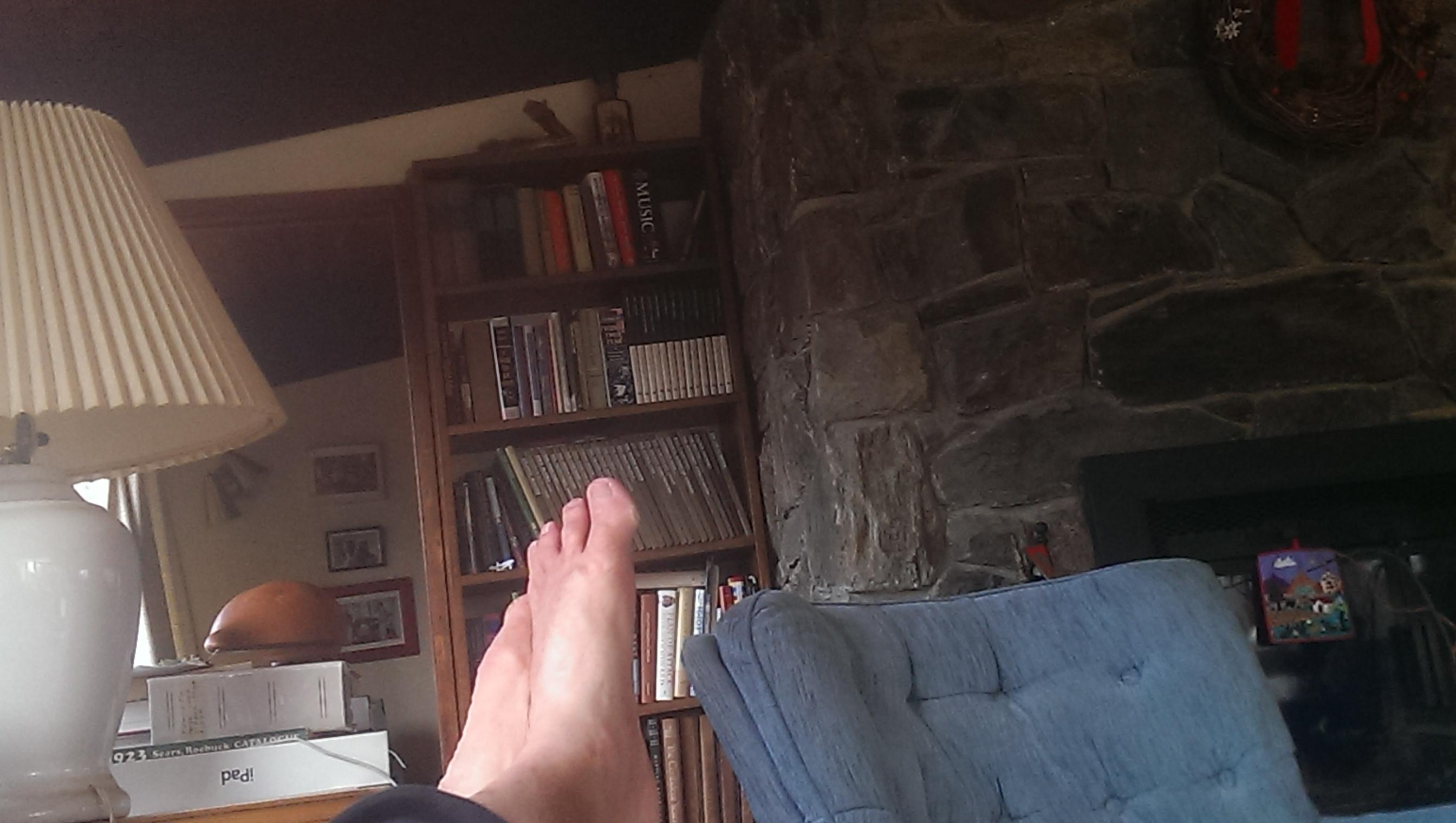 Brian's feet