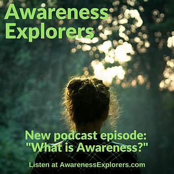 Awareness Explorers podcast Episode 1: What is Awareness?