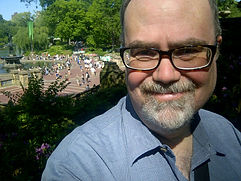 Brian Tom O'Connor enjoying Central Park