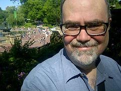 Brian Tom O'Connor enjoying Central Park