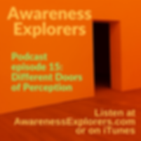 Awareness Explorers podcastEpisode 15 Different Doors of Perception