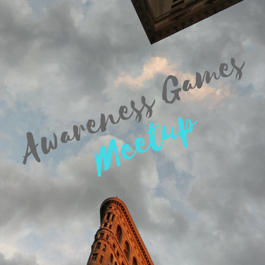 Awareness Games Meetup Oct 2 2018