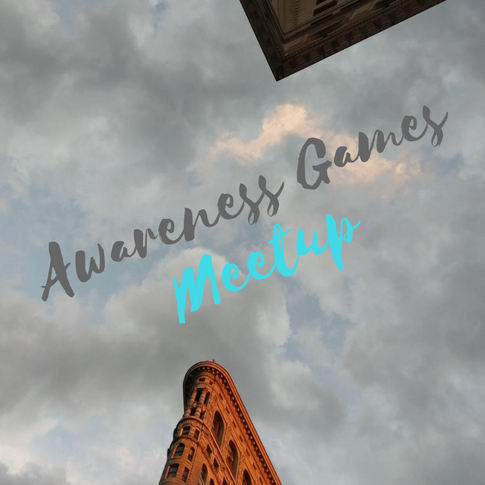 Awareness Games Meetup Oct 2 2018