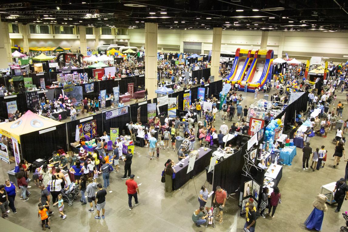 Florida Family and Kids Expo | Orlando Event Photography | Sunshine Photography