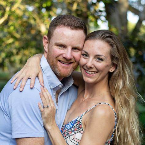 Jim and Danielle | Orlando Engagement Photos | Sunshine Photography