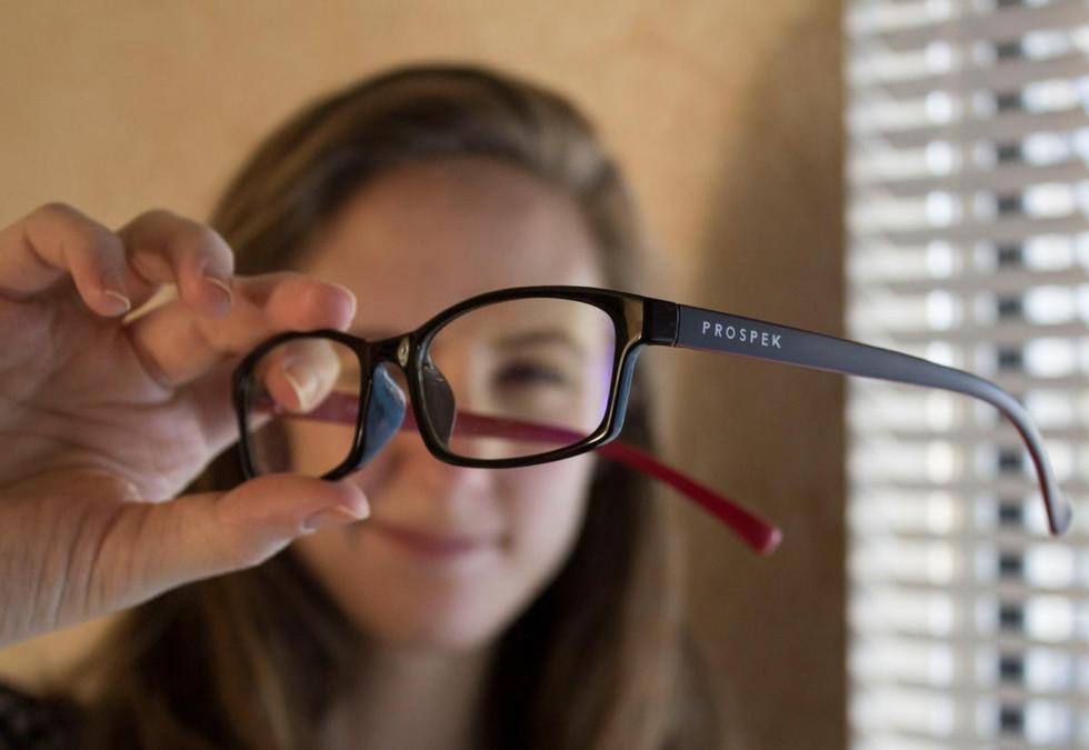 Prospek Blue Light Spektrum Glasses | Orlando Product Photography | Sunshine Photography
