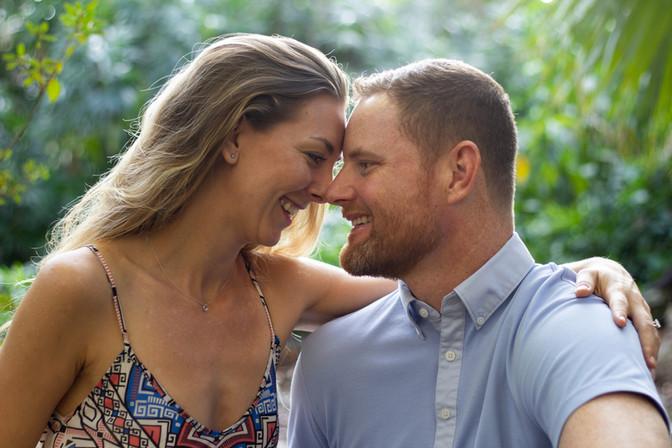 Danielle and Jim | Orlando Engagement and Lifestyle Portraits | Sunshine Photography