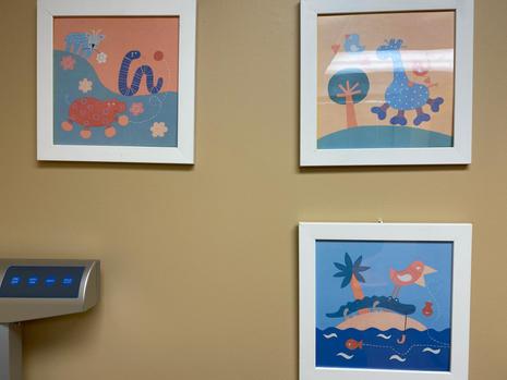 Set of 3 Framed Prints $10