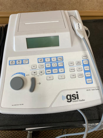 Tympanometer GS-39  $1,500