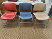 Plastic Stacking Chairs $10 ea/$25 for 3