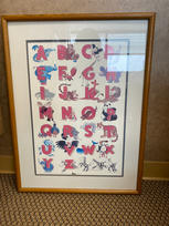 Alphabet Animals Print $20