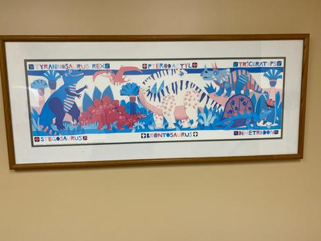 Dinosaur Print $20