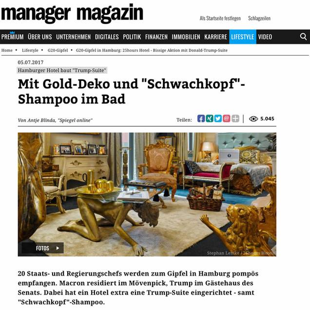 Setzkorn - Manager Magazin - Trumpsuite
