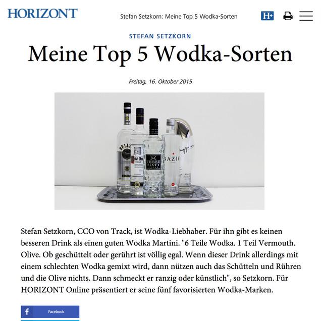 Setzkorn - Best Vodka
